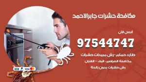 مكافحة حشرات وقوارض مدينة جابر الاحمد